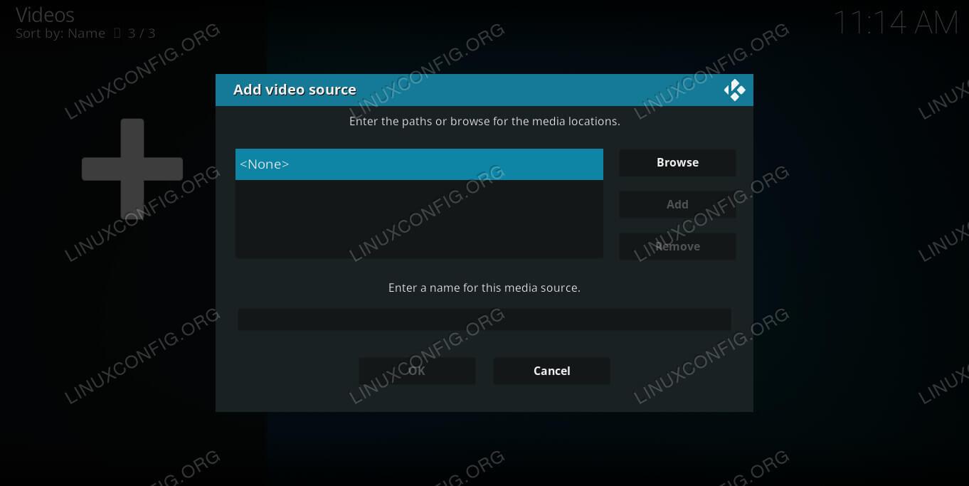 Add Kodi File Source