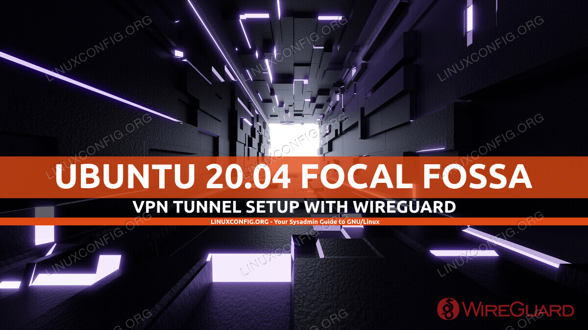 Wireguard VPN on Ubuntu 20.04