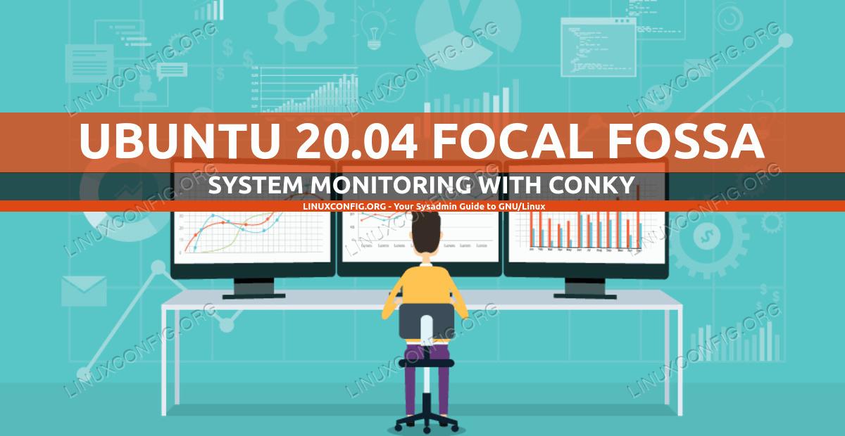 Conky system monitoring on Ubuntu 20.04