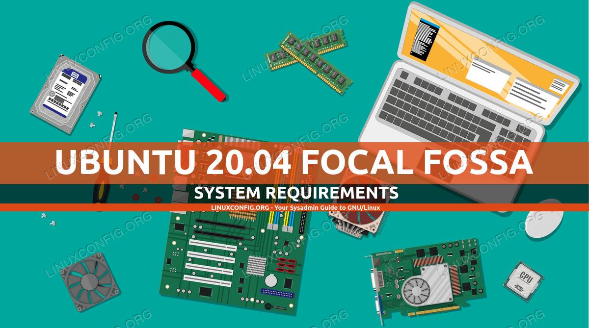 Ubuntu 20.04 System Requirements