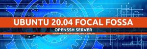 Ubuntu 20.04 SSH Server