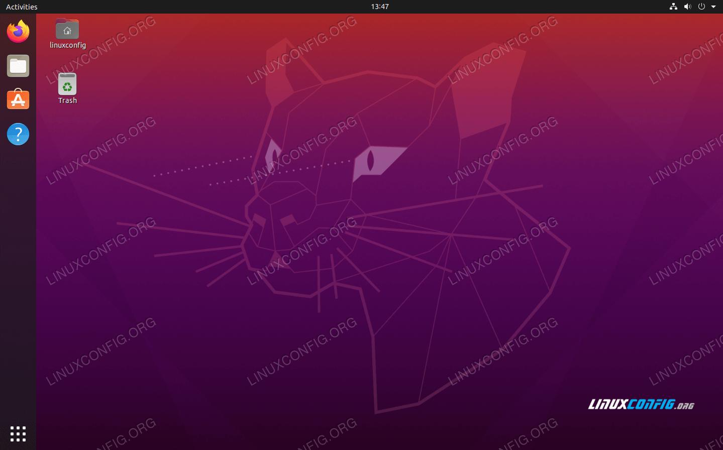 Focal Fossa's new wallpaper and desktop