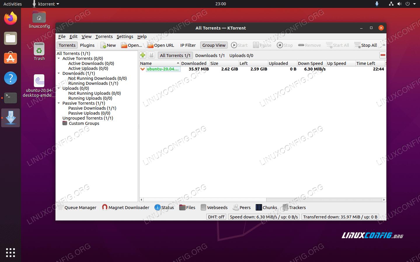 KTorrent torrent client