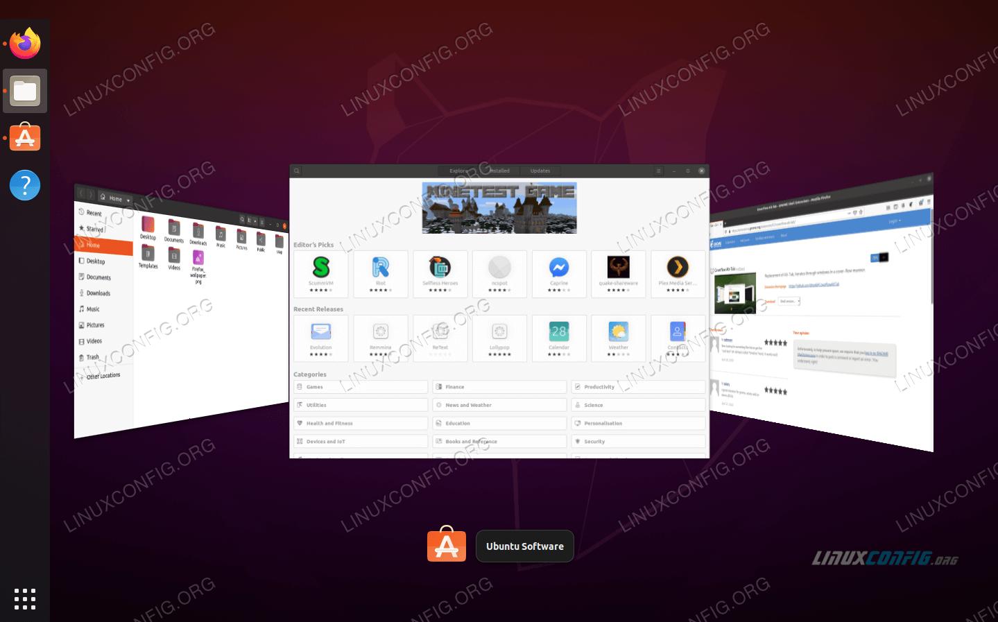 GNOME extensions on Ubuntu 20.04 Focal Fossa