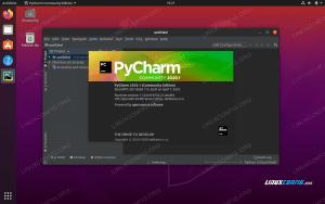 PyCharm 3D creation suite on Ubuntu 20.04 Focal Fossa