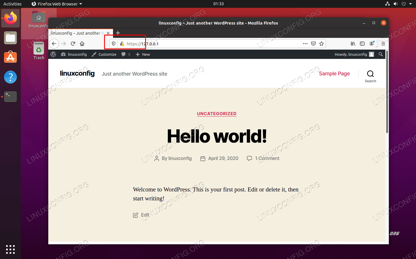 HTTPS is now enabled on our WordPress site