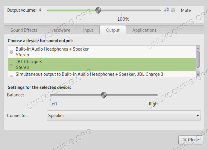 Switch Sound Output To Bluetooth