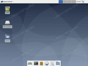 Debian Linux desktop
