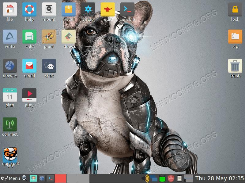 Puppy Linux desktop