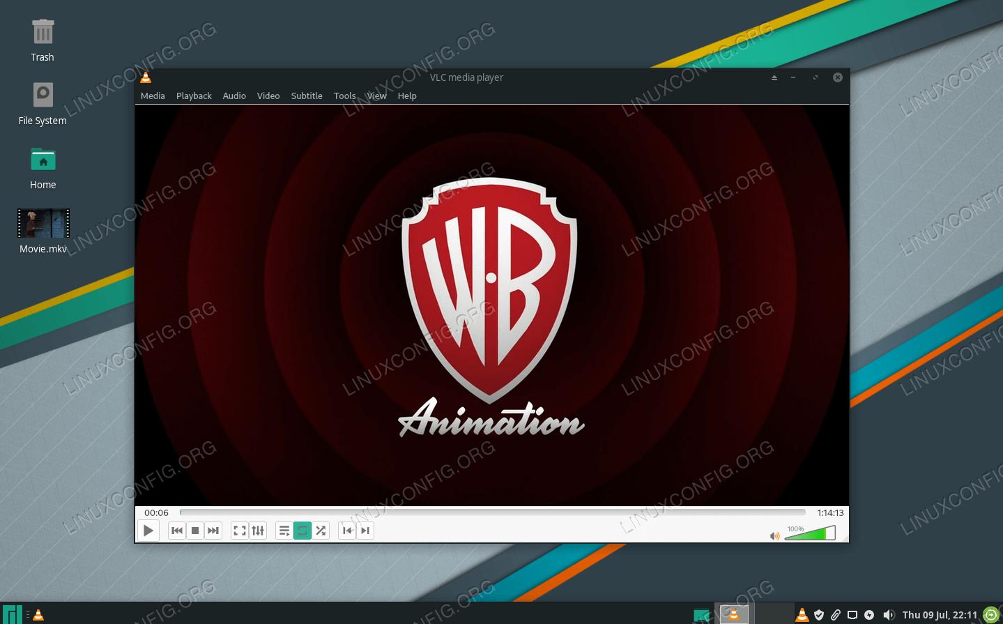 VLC Player on Manjaro Linux