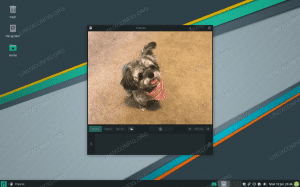 Using webcam on Manjaro Linux