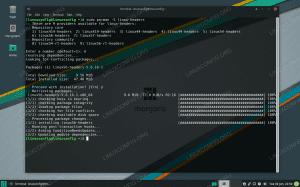 Installing kernel headers on Manjaro