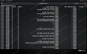 ss command on Linux