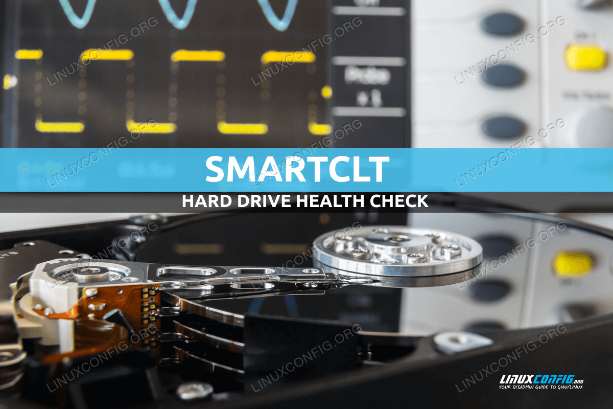 How to check an hard drive health from the command line using smartctl