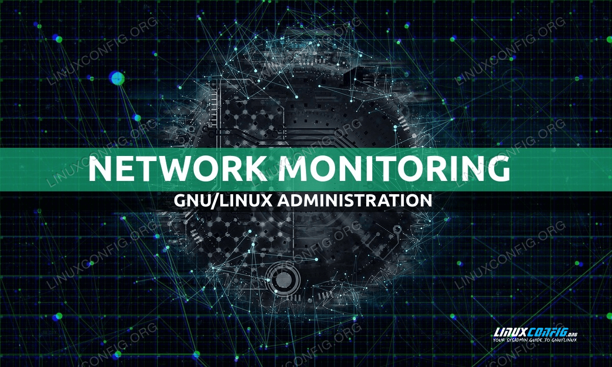 How to monitor network activity on a Linux system