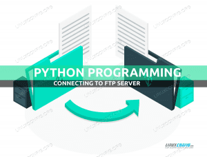 How to connect to an FTP server using Python