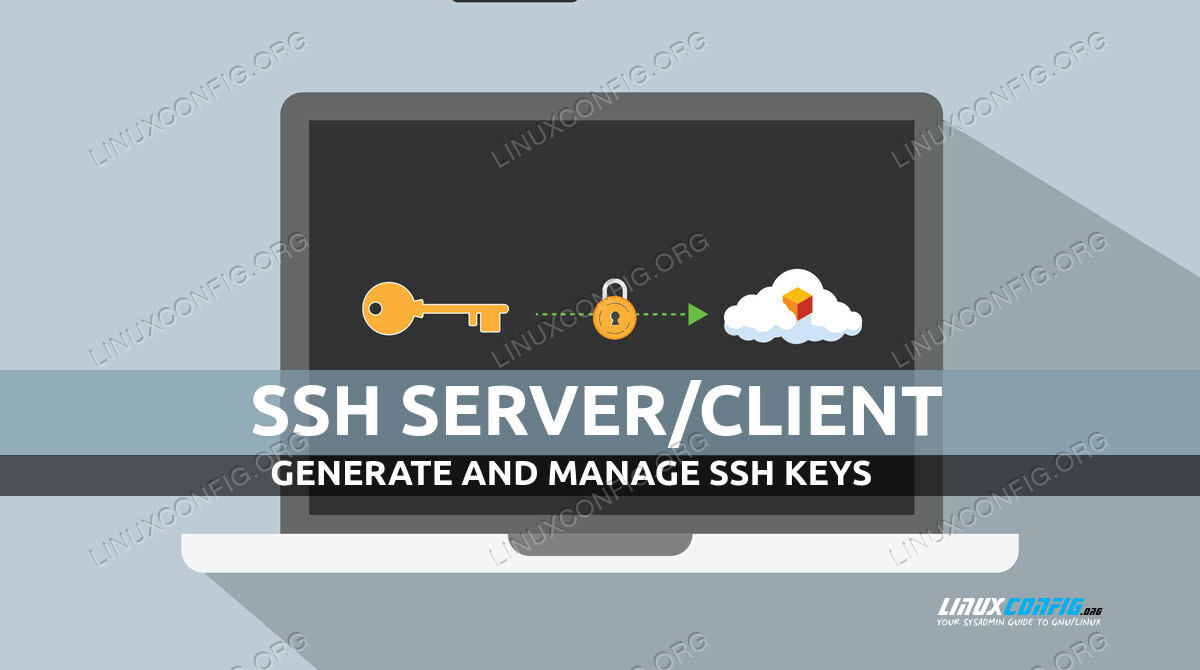 How to generate and manage ssh keys on Linux