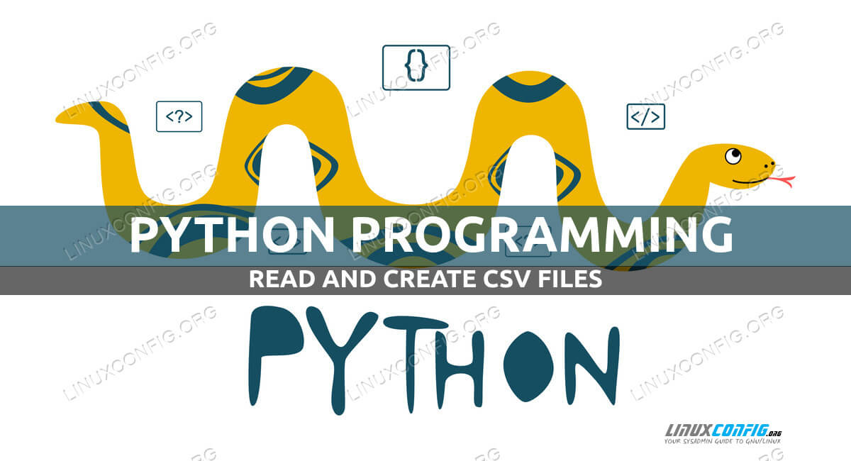 How to read and create csv files using Python