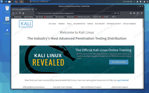 Firefox on Kali Linux