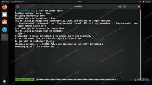 Uninstalling NGINX from Ubuntu