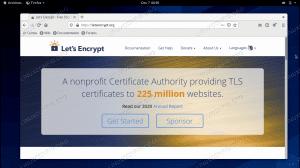 Lets Encrypt on CentOS 8