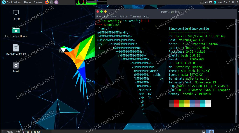Parrot OS Linux