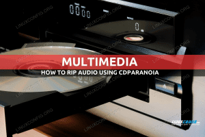 How to rip an audio CD from the command line using cdparanoia