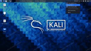 Enabling and disabling WiFi in Kali Linux
