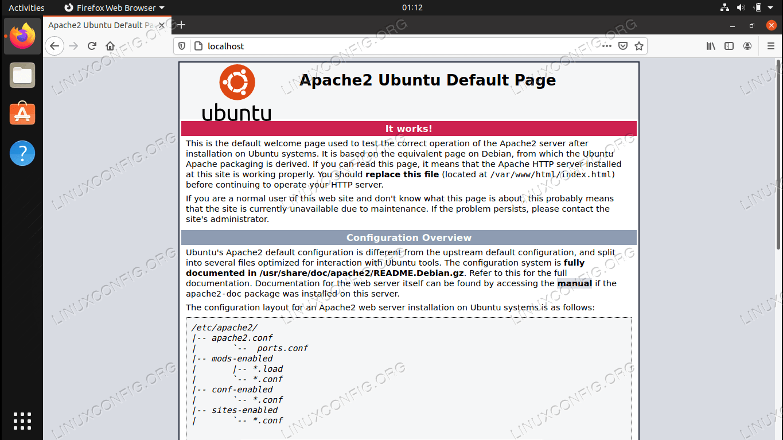 Installing Apache on Ubuntu 20.04