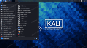 Penetration testing and hacking tools on Kali Linux