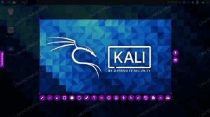 Taking a screenshot on Kali Linux