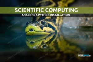 How to install Anaconda scientific computing python distribution on Linux