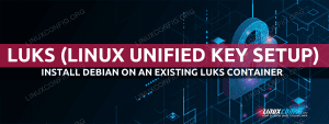 How to install Debian on an existing LUKS container