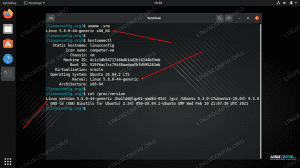 Multiple commands showing the kernel version of a Linux system