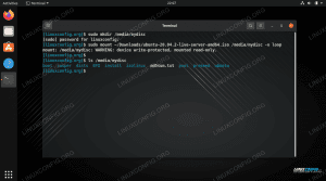 Mounting and accessing an ISO file in Ubuntu Linux