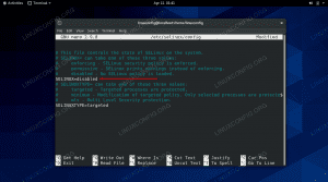 Disabling SELinux on CentOS 8