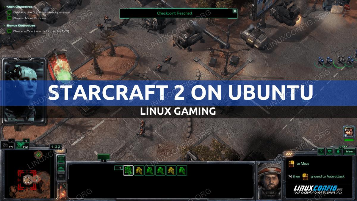 How to install Starcraft 2 on Ubuntu Linux