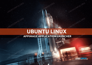 How to Create an Integrated Application Launcher For an Appimage file in Ubuntu
