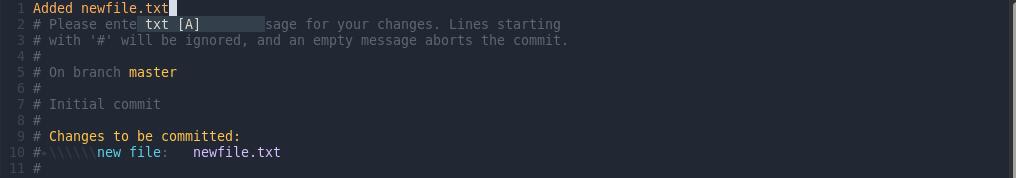 git-commit-editor