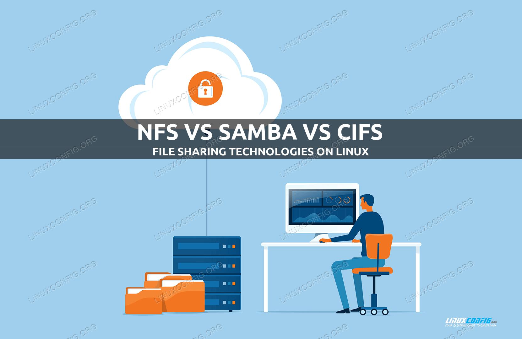 NFS vs SAMBA vs CIFS