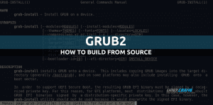 How build grub from source on Linux