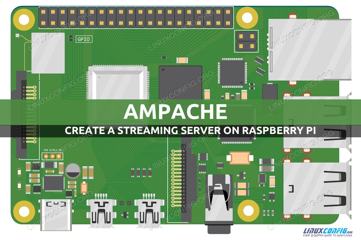Ampache Raspberry Pi installation