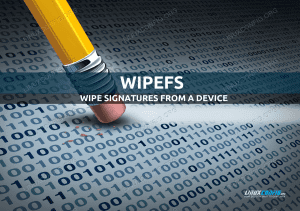 wipefs Linux command tutorial with examples