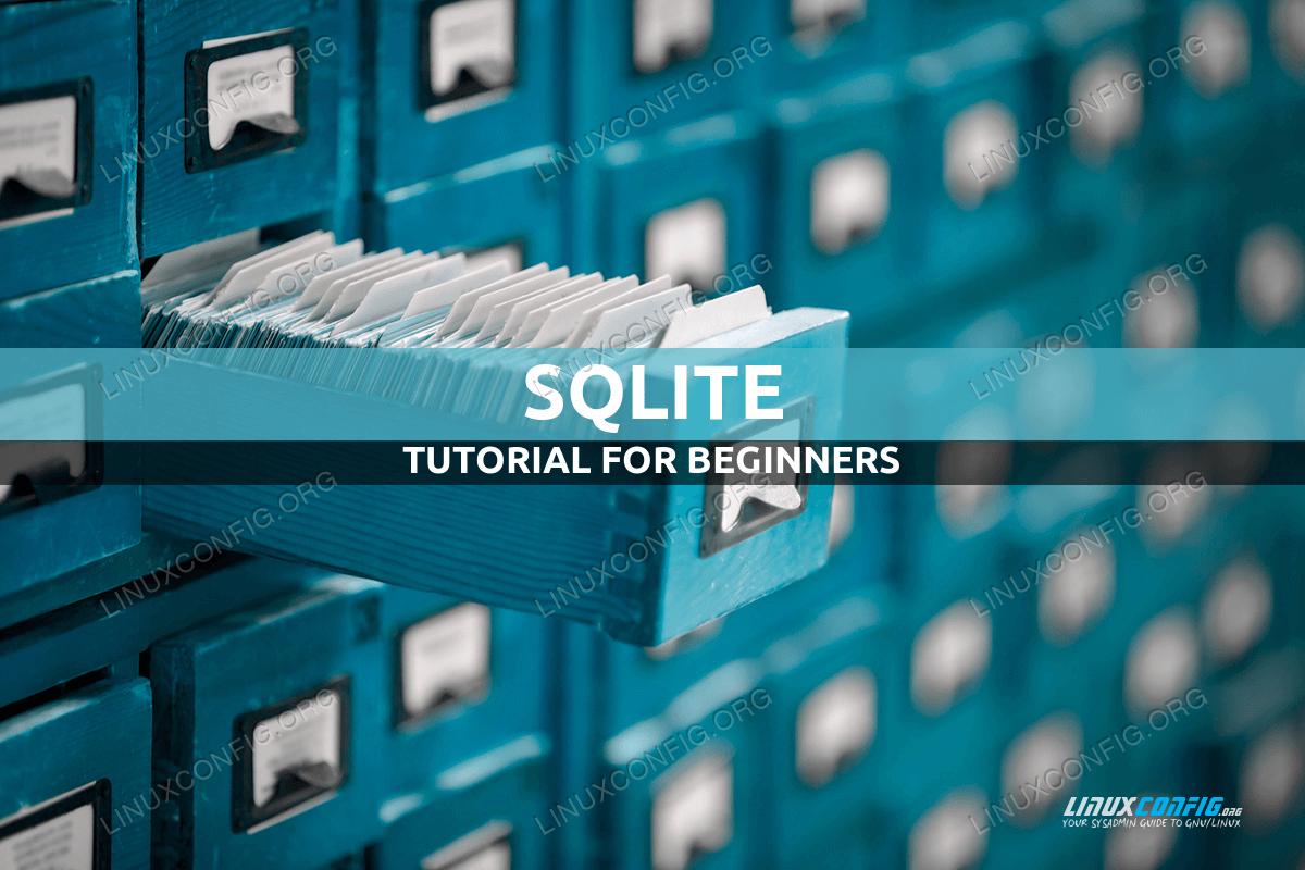 SQLite Linux Tutorial for Beginners